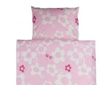 Bettwäsche Blume, rosa
